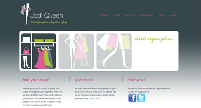 WordPress Website – Jodi Queen/Fashion Stylist
