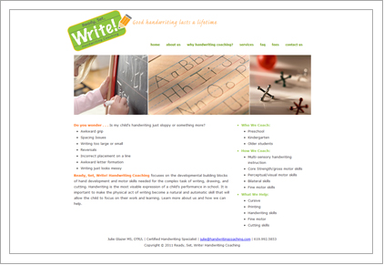 Ready Set Write! Handwriting Coaching