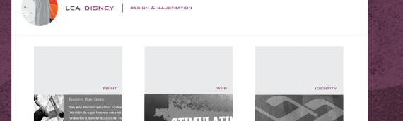 WordPress Portfolio – Lea Disney Design