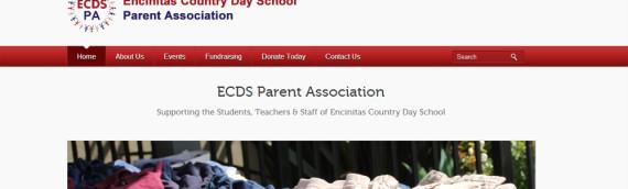 WordPress Website – ECDS Parent Association