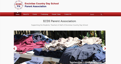 WordPress Website – ECDS Parent Association