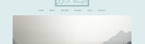 WordPress Website – JJA Murals