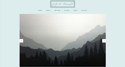 WordPress Website – JJA Murals