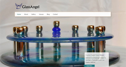 WordPress Website – GlassAngel