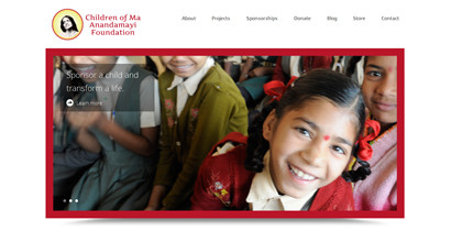 WordPress Website – Children of Ma Foundation