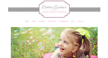 WordPress Website – Debbie Zeichner, LCSW